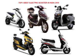 TOP 5 BEST ELECTRIC SCOOTER IN INDIA 2019