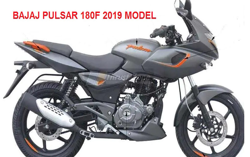 Bajaj pulsar 180f 2019 model launched with fearing