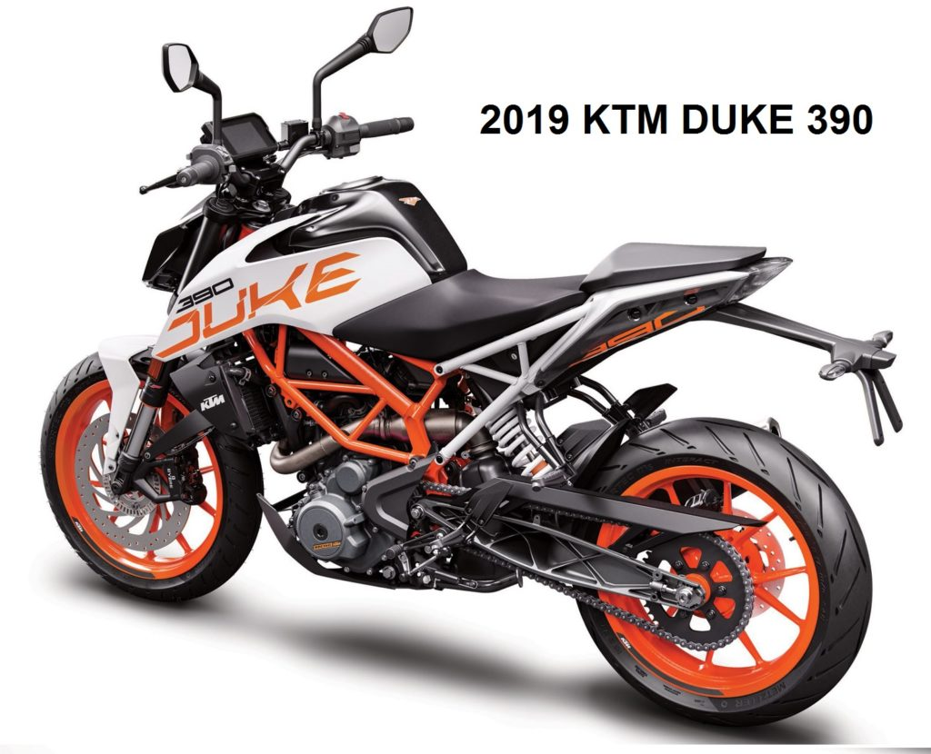 2019 duke 390 price and specification in India