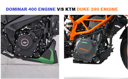 Bajaj Dominar 400 vs KTM duke 390 comparison