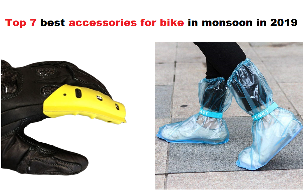 Top 7 best accessories for bike in monsoon in 2019