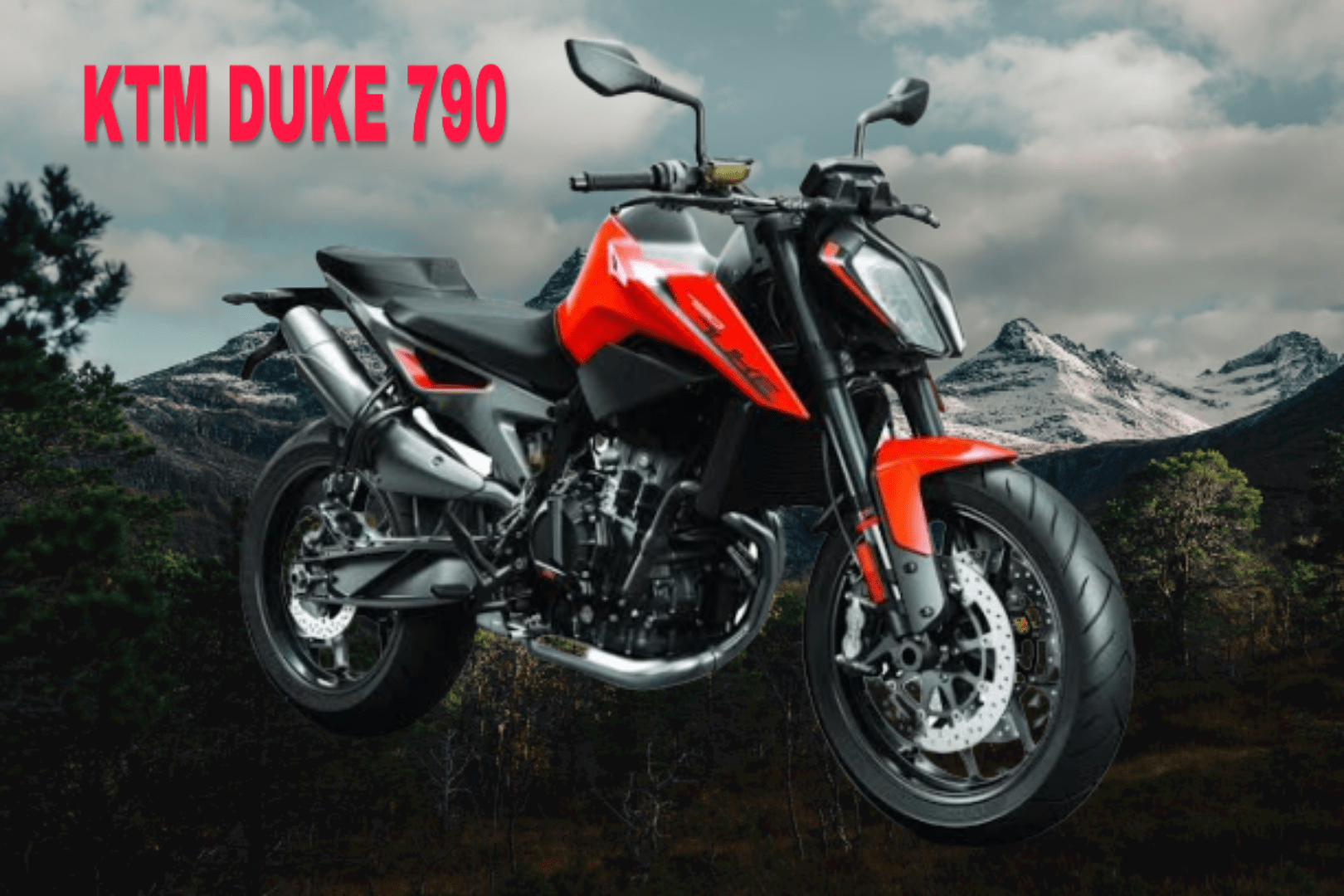 ktm 790 duke looks