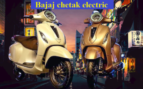 bajaj chetak electric scooter