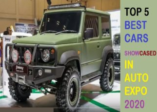 TOP 5 best CARS OF AUTO EXPO 2020