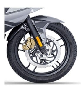pulsar RS 200 BS6 front tyre