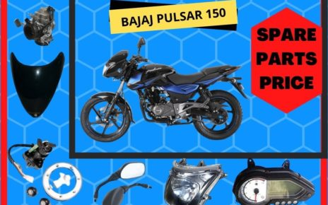 BAJAJ PULSAR 150 spare parts price list in india