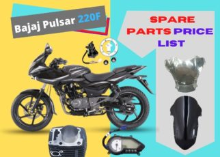 Spare parts price of Bajaj Pulsar 220f