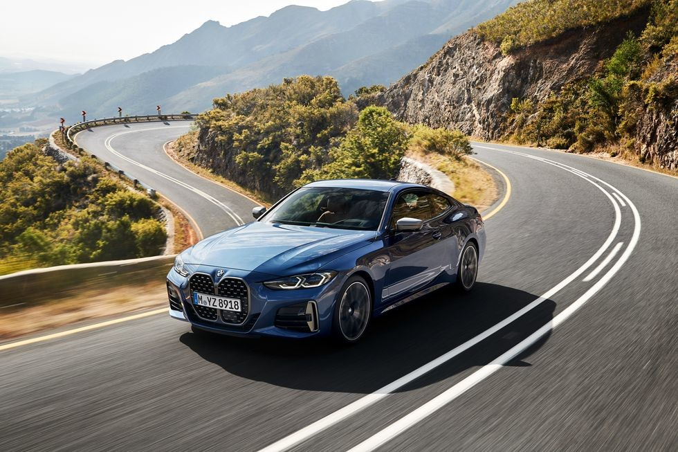 BMW 4-series coupe revealed