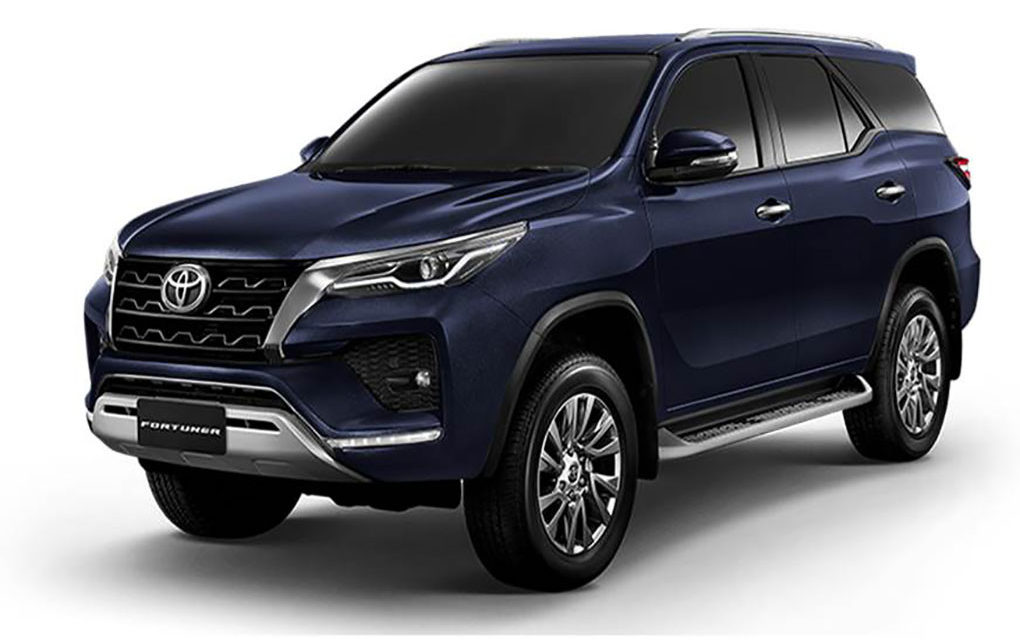 2021 Toyota Fortuner facelift