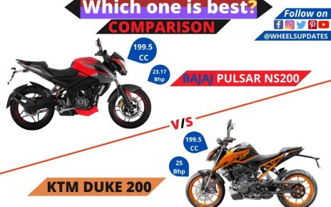 Bajaj pulsar NS 200 vs KTM duke 200 comparison
