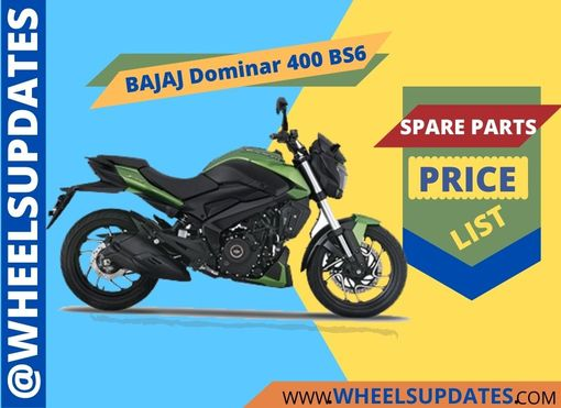 Bajaj dominar 400 spare parts pricepdf