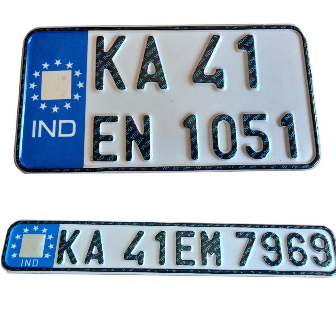 Number plate for all bikes