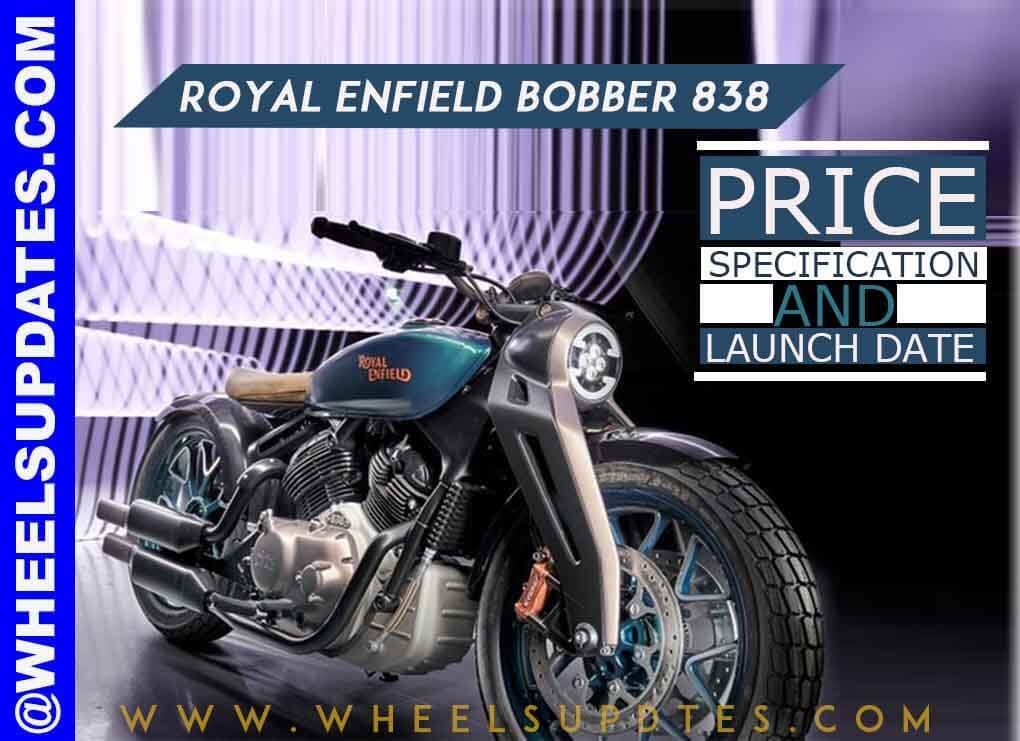 Royal Enfield bobber 838