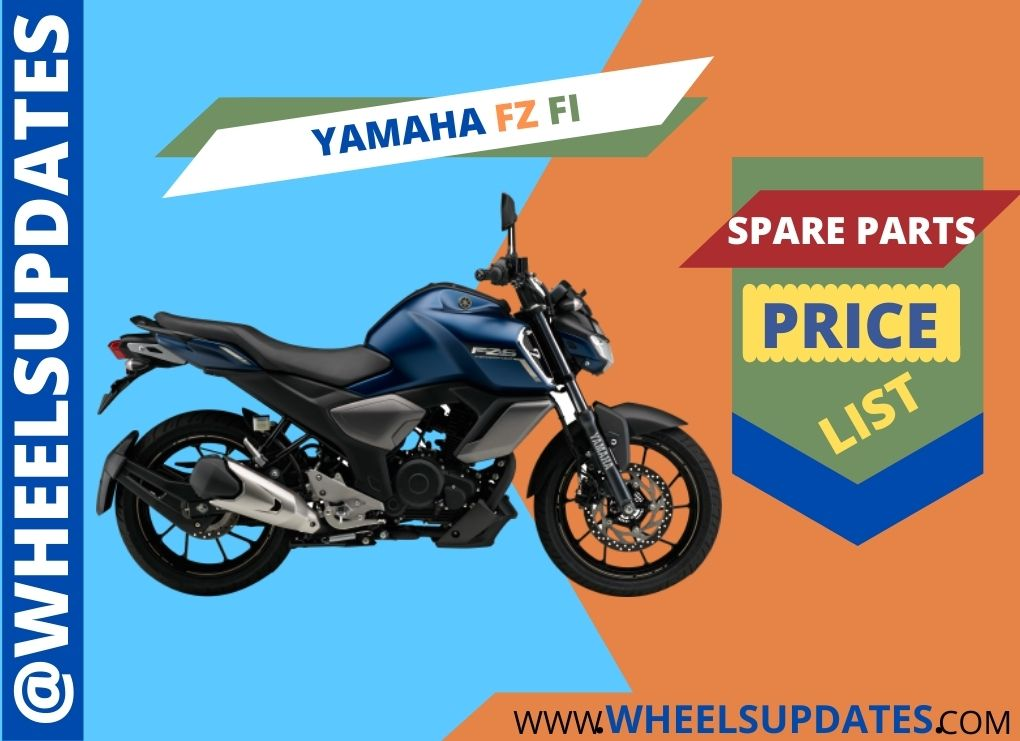 Yamaha FZ FI spare parts price