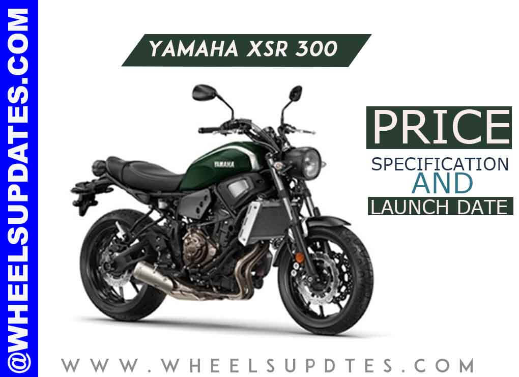 Yamaha XSR 300 price and launch date