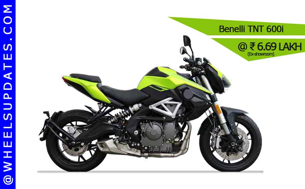 benelli TNT 600i most affordable inline four cylinder motorcycle