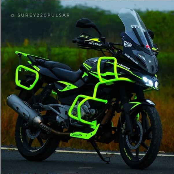 pulsar 220 touring modified