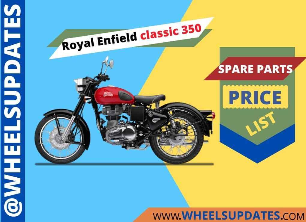 Royal enfield classic 350 spare parts price