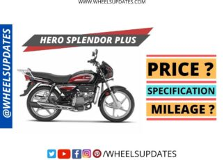 Hero Splendor Plus price