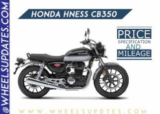 Honda Hness CB350 price and mileage