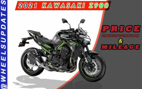 2021 KAWASAKI Z900 PRICE IN INDIA