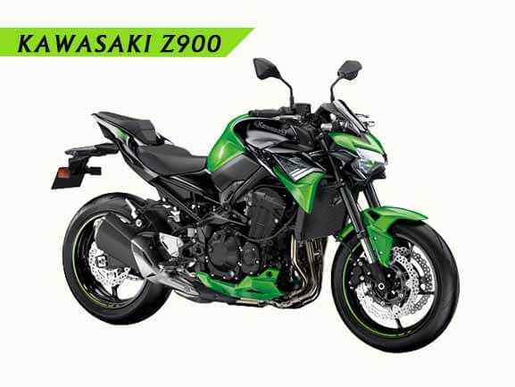 2021 Kawasaki Z900 Candy lime green