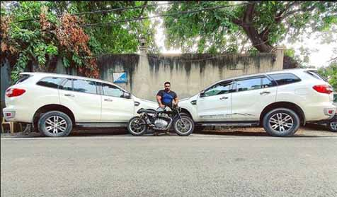 cars and bikes owned by Youtuber Ashwin Singh Takiar