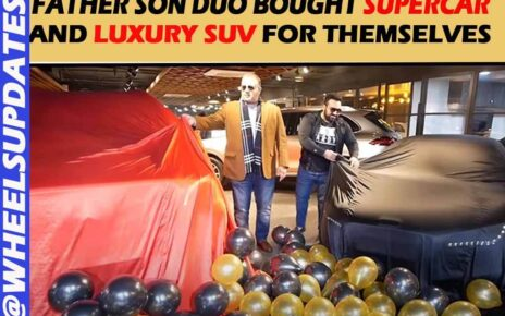 Ashwin singh takiar and his father bought new cars for themselves