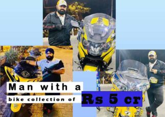 Bike collection of Swaran paji