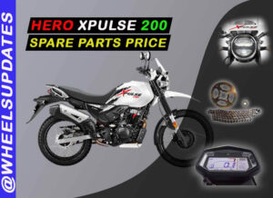Hero xpulse 200 spare parts price list