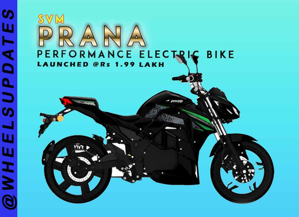 SVM prana electric bike