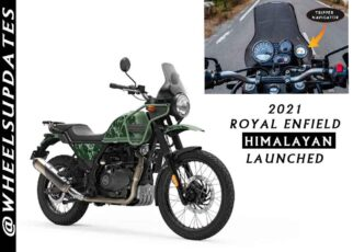 2021 Royal enfield Himalayan launched