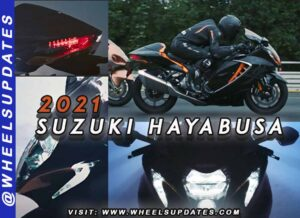 2021 SUZUKI Hayabusa with updated styling