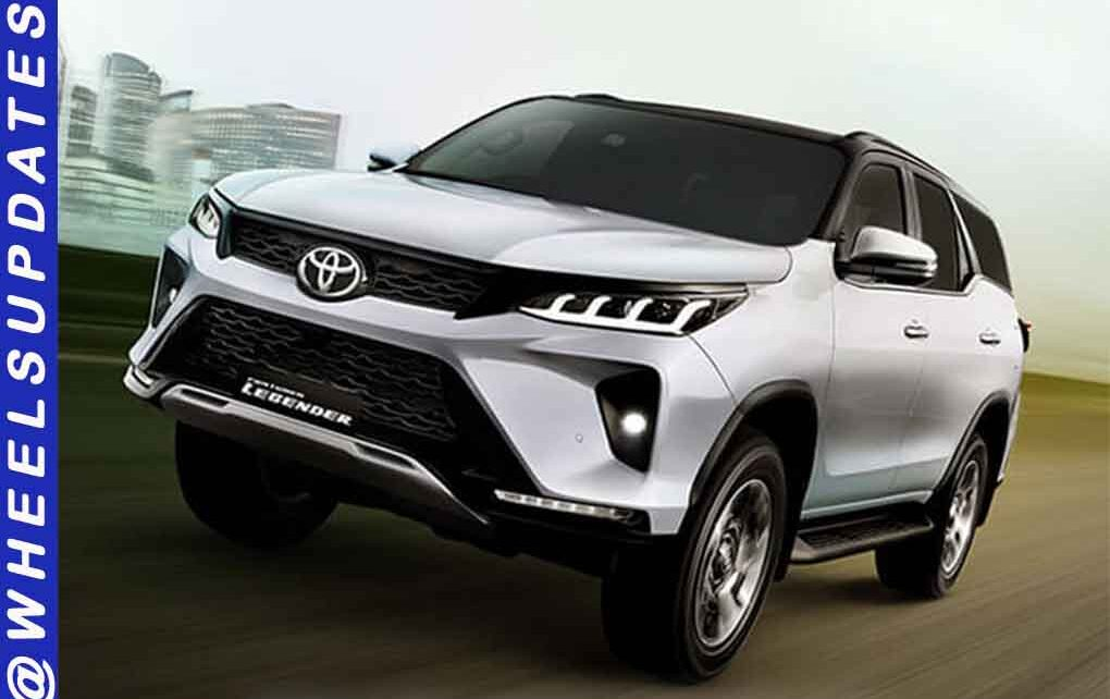 2021 Toyota Fortuner And Legender Grabbed More Than 5000 Bookings