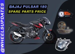 Bajaj Pulsar 180 spare parts price list