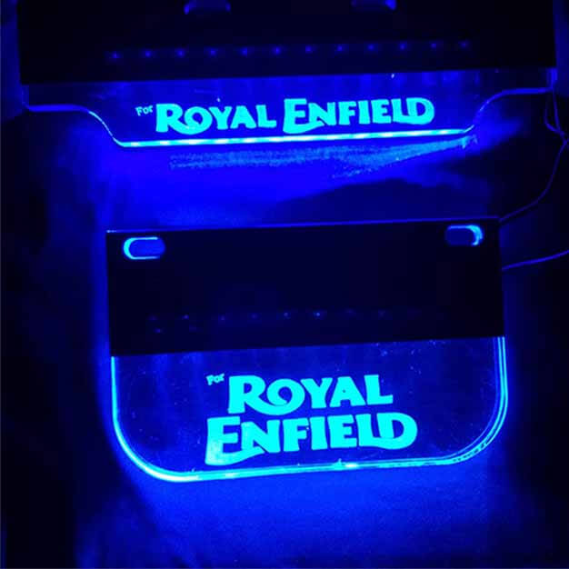 LED light number plate for royal enfield classic 350