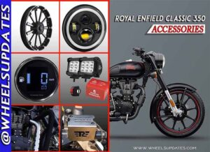 Royal endfield classic 350 accessories list in india 2021