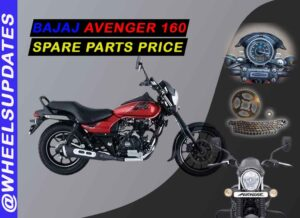 bajaj avenger spare parts price list in india