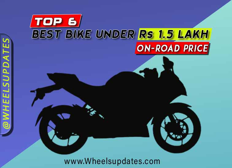 Best bike under 1.5 lakh on road price
