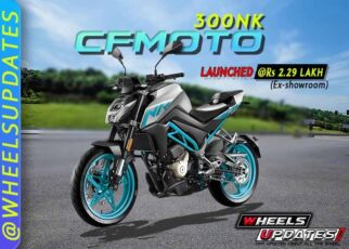 CF Moto 300NK on-road price and specs