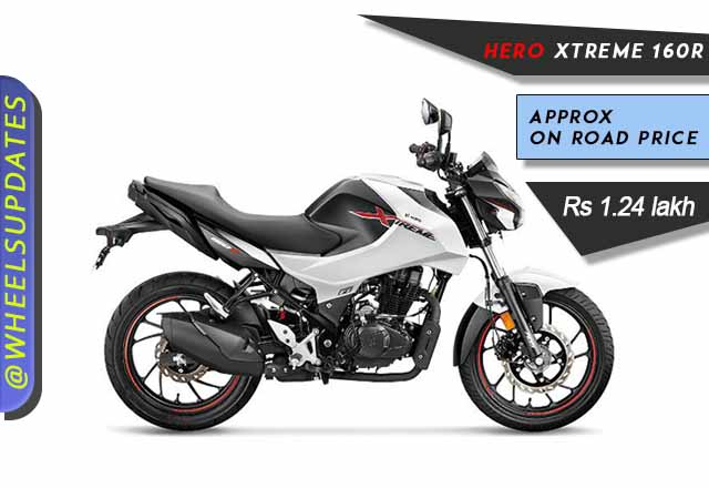 Hero Xtreme 160R on Road price