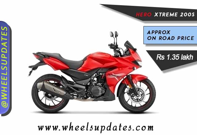 Hero Xtreme 200S best fully faired bike under 1.5 lakh