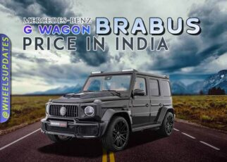 Mercedes Benz G wagon Brabus price in India