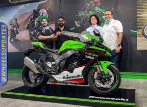 2021 Kawasaki ZX10R delivered to JS Films