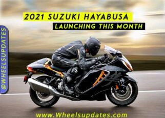 2021 Suzuki Hayabusa launching in April