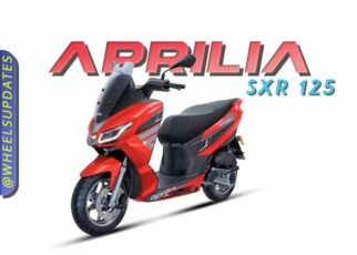 Aprilia SXR 125 price and specification