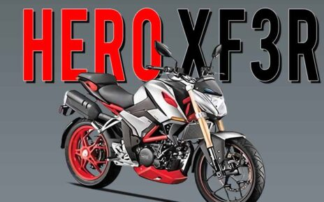 Hero 300cc bike XF3R expected to launch in India soon