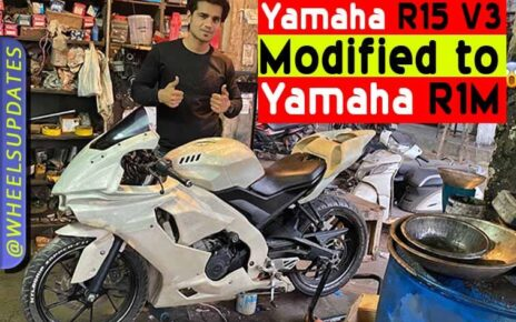 Yamaha R15 V3 Modified to Yamaha R15 in India