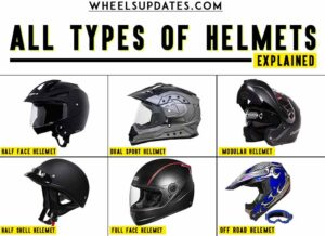 all types of helmets explained