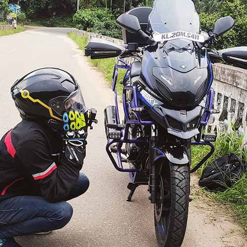 KERAL'S FIRST FULLY MODIFIED ADVENTURE PULSAR 220